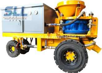 China Less Dust Wet Durable Concrete Spraying Machine High Concrete Strength supplier