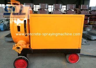 China Easy Moving Hose Squeeze Pump Foam Concrete Mixer With High Air Compressor supplier