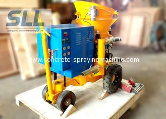 China Small Output Concrete Shotcrete Machine Mortar Spraying Machine For Swimming Pool supplier