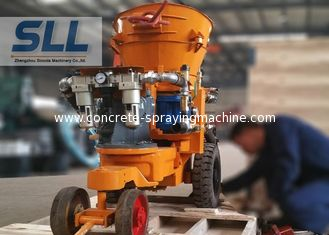 China Pneumatic drive SPZ - 3A shotcrete machine with air motor explosion proofing working supplier
