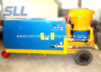 China Tunneling Diesel Power Concrete Spraying Machine By Battery Starting supplier