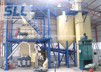 China Energy Saving Mortar Mixing Equipment With Diesel Oil / Coal Sand Dryer supplier