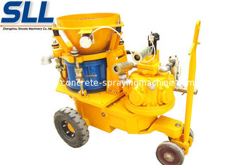 China Air Motor Dry Mix Concrete Spraying Equipment supplier