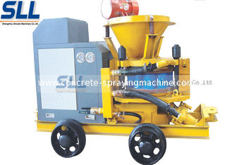 China Mix Refractory Concrete Shotcrete Machine 200m Convery Distance Slope Reinforcement supplier