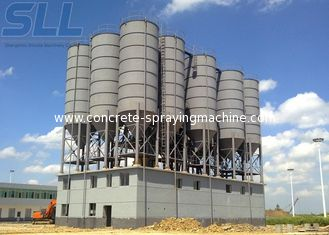 China Tank Container Type Cement Storage Silo Continuous Mortar Mixer Motor supplier