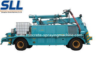 China Stability concrete spraying shotcrete machine for sale convey cylinder with long stroke supplier
