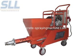 China spray gun of mortar plastering machine is convenient and easy to use Total Power 7.5kw supplier
