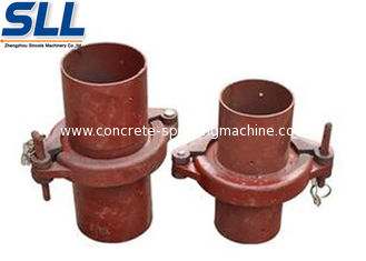 China Concrete spraying machine accessories pipe joint  wear-resistance refractory for spraying nozzle supplier