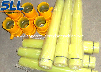 China Concrete spraying equipment parts shotcrete nozzle placed on the spray head seat supplier