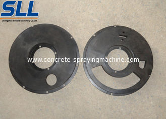 China Wet Concrete spraying machine spare parts sealing plate replacement parts supplier
