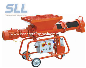 China Plastering Mortar Spraying Machine Automatic Mobile Mortar Horizontal Continuous Mixer supplier