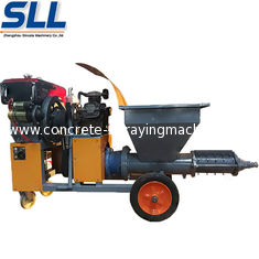 China Diesel High Speed Concrete Spraying Machine Small Volume For Construction supplier