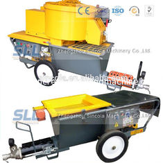 China 4m3 / H Mortar Spraying Machine Exterior Wall Plastering Pumping Delivery 30m For Building supplier