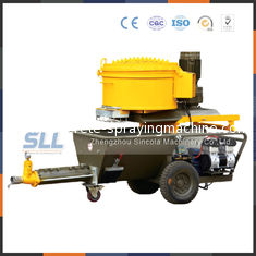 China Cement Mortar Automatic Plastering Machine Mini Electric Screw Plastering Tool supplier