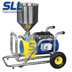 China Stainless Portable Wall Coating Mortar Spraying Machine Flow Rate 12L/Min supplier