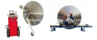 China 620mm 25kw Concrete Wall Cutting Machine For Door Vertical Circular Saw Cutting supplier