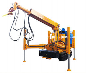 China Electric Robotic Mining Equipment / Concrete Spraying Machine With Shotcrete Arm supplier