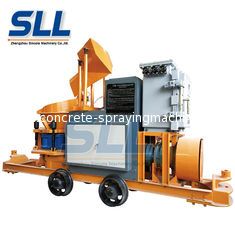 China 5m3/H Mining Explosion Proof Concrete Shotcrete Machine With Air Compressor supplier