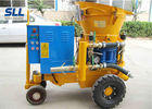 Dry / Wet Ready Mix Concrete Shotcrete Machine 13.8~14.8m3/Min Air Consumption