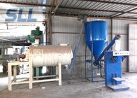 China Simple Spiral Band Dry Mortar Mixer Machine With Sand Dryer High Performance factory