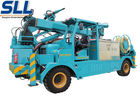 China Wet mix concrete sprayer trailer robot arm electric motor and diesel two-motor drive factory
