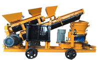 Mining Industrial Concrete Sprayer / Automatic Feeding Wet Shotcrete Machine