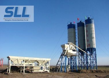 China HZS35 Cement Concrete Batching Plant With Sealed Patent Convenient Operation distributor
