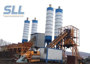 China PLD1600 Belt Type Concrete Batching Plant For Big / Medium Construction Project distributor