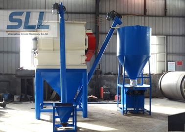 China Steel Tile Bonding Dry Mortar Mixer Machine With Packing Machine 1 - 5t/H Production distributor