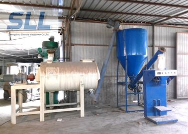 China Simple Spiral Band Dry Mortar Mixer Machine With Sand Dryer High Performance distributor