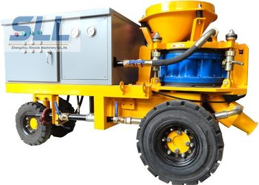 China Less Dust Wet Durable Concrete Spraying Machine High Concrete Strength distributor