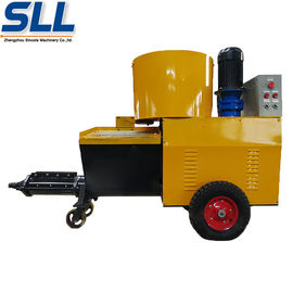 China High Efficiency Wall Cement Plaster Machine 380V / 7.5kW 12 Months Guarantee distributor