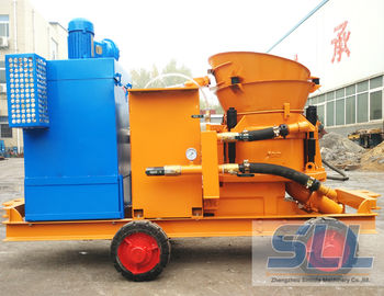 China Dustless Concrete Shotcrete Machine For Swimming Pool Construction distributor