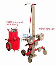China CE Passed Diamond Wire Saw Cutting Machine / Multi Wire Saw Granite Cutting Machine distributor