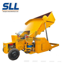 China Diesel Self Loading Dry Concrete Shotcrete Machine 15m3/H With 1 Year Warranty distributor