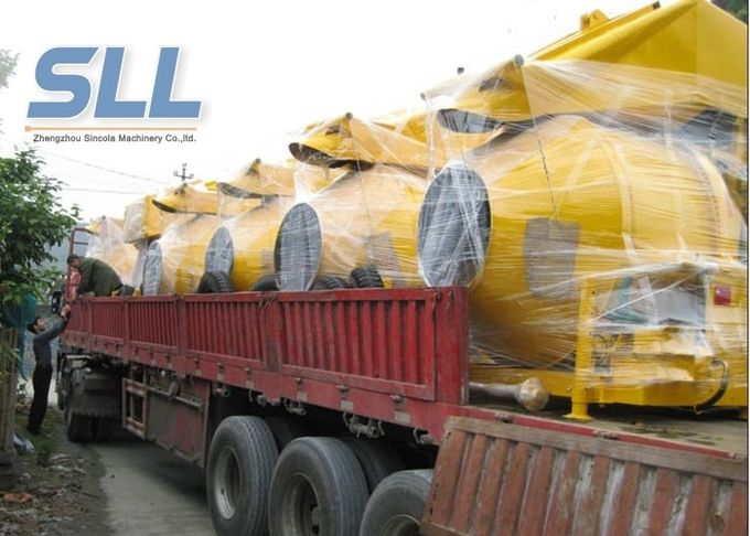 JZC350 Easy Moving Self Loading Concrete Mixer Machine 2600*1950*2580mm