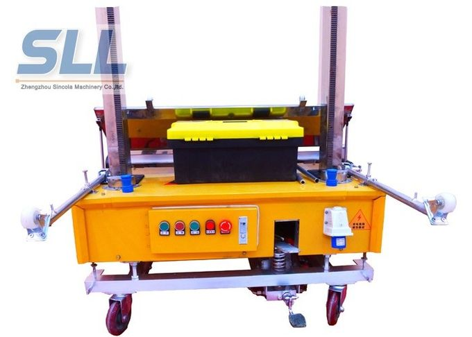 Waterproof Automatic Rendering Machine For Construction / Building Laser Positioning